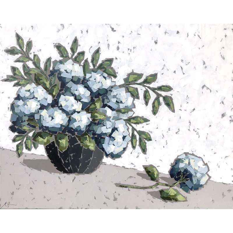 End of Summer Hydrangeas by Christie Younger