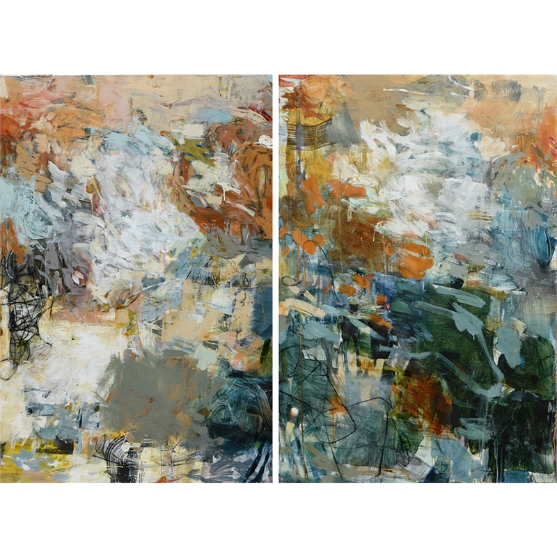 """""""This is Just to Say""""  Diptych, 2019"""
