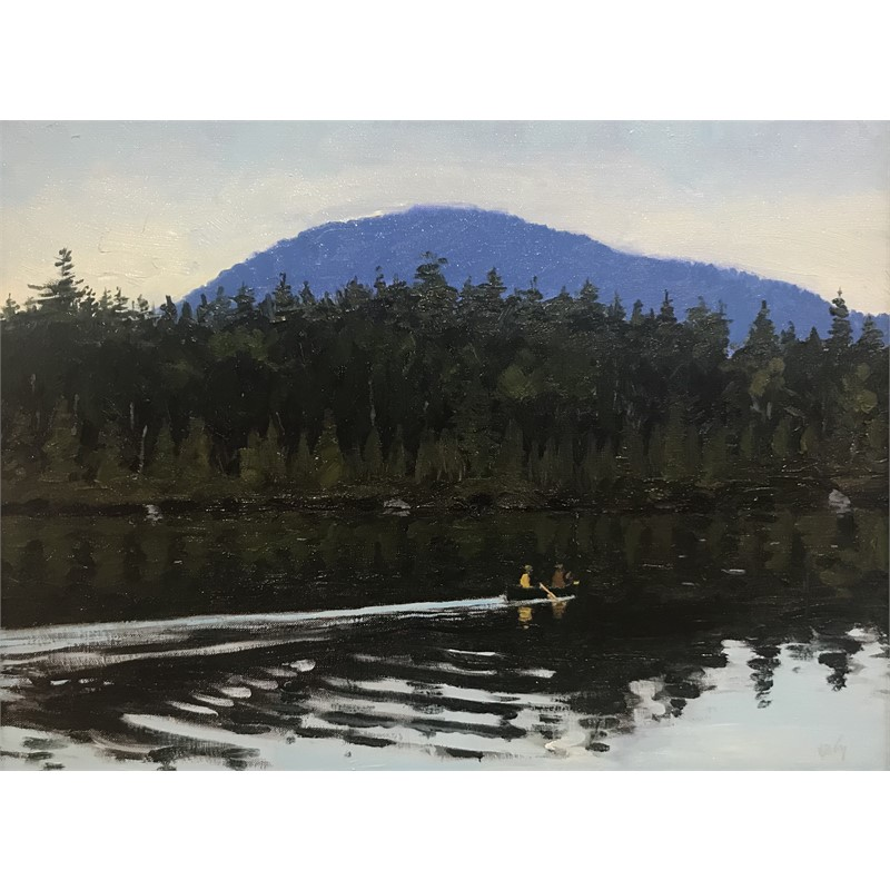 Yoke Pond Evening, 2018
