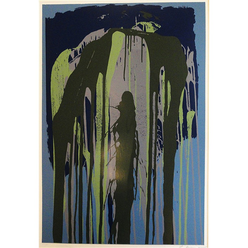 Untitled (Blue) (25/100), 1981