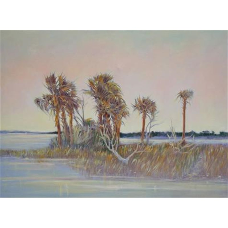 Early Palms by Patricia Lusk