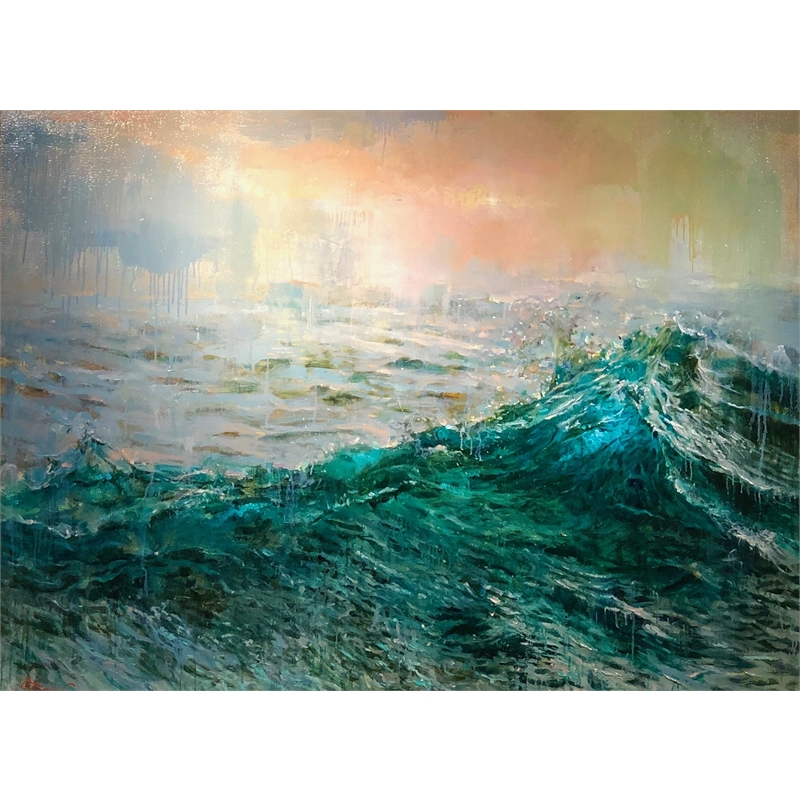 """Aquamarine Wave"", 2019"