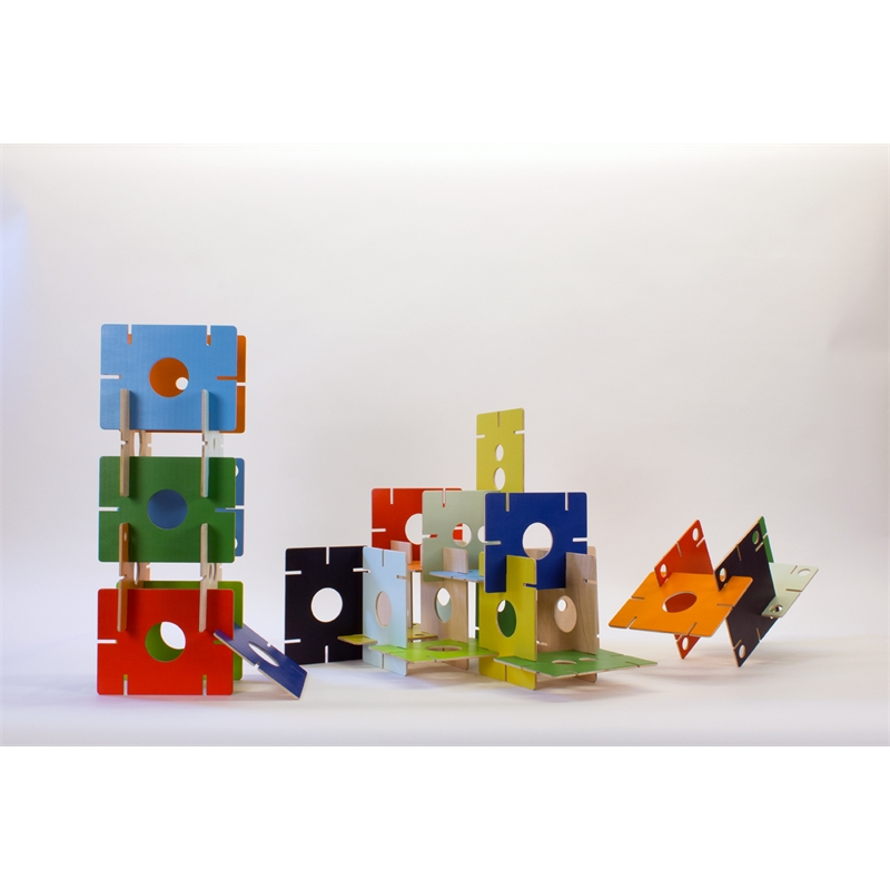 EAMES REDUX: HOMAGE TO THE HOUSES OF CARDS by Heidi Pollard