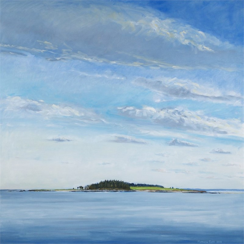 Richmond Island from the Northeast #1, 2018