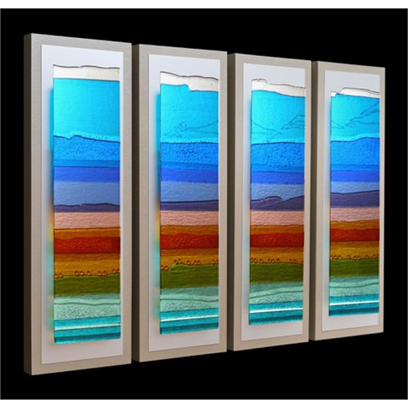 Mesa Moment (4 panel), 2019