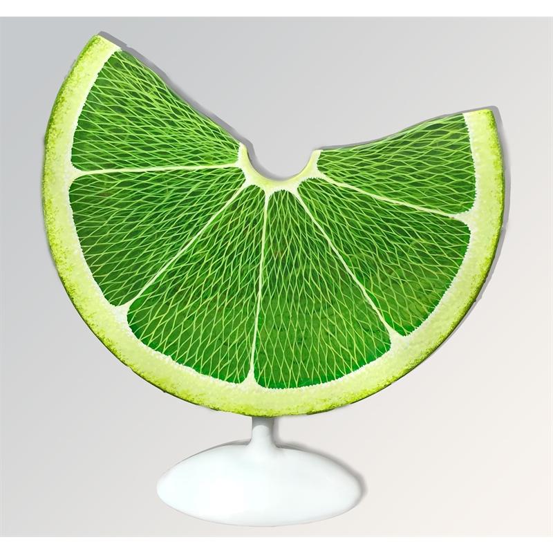 Dew Drop Lime Slice by Daniel Meyer