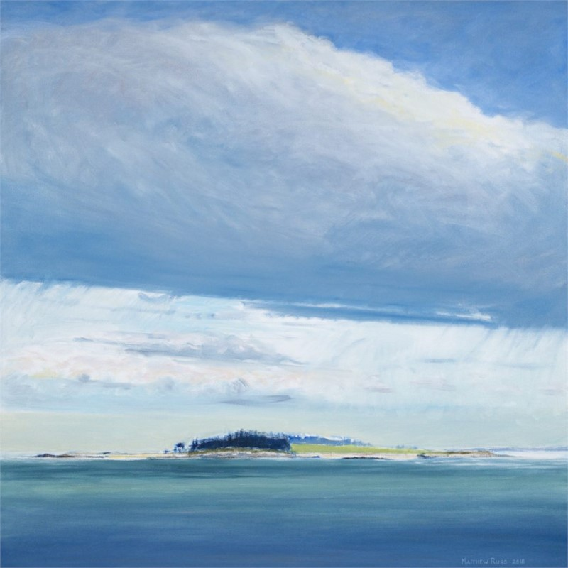 Richmond Island from the Northeast #4, 2018