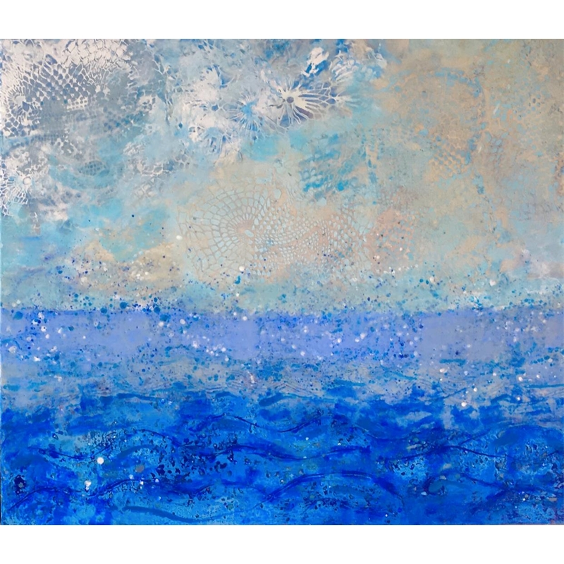 Sea and Sky #4 (Diptych 2 of 2)