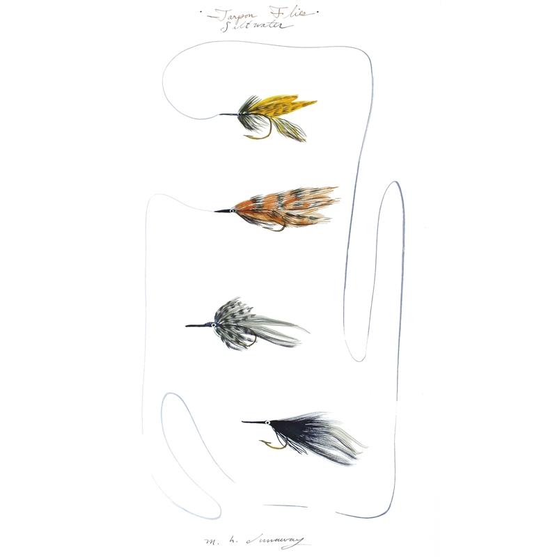 Four Tarpon Whistlers