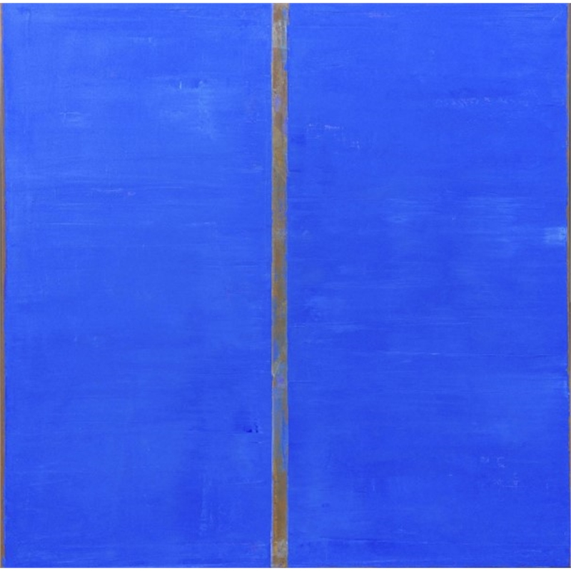 Blue-Sienna (Vertical), 2014