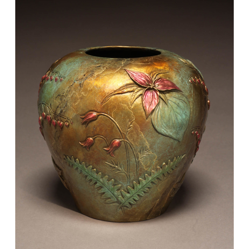 Spring Trillium Vase (/28), 2019