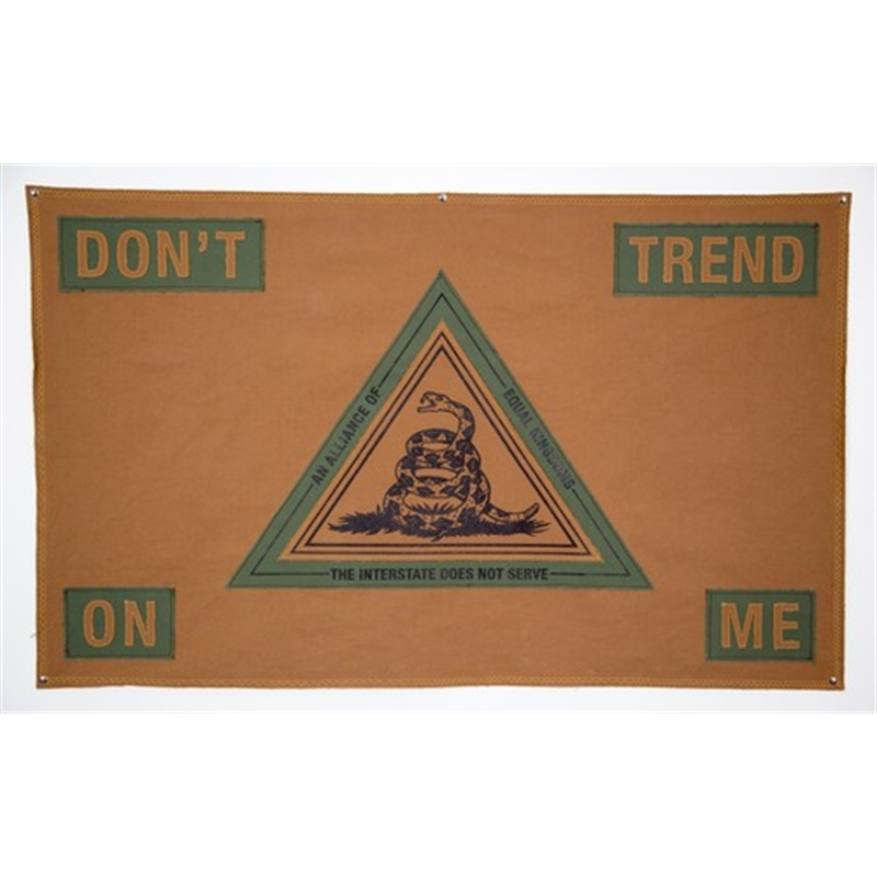 Don't Trend On Me Flag 2