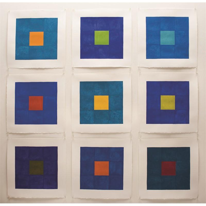Blue Elegy ( in 9 Panels)