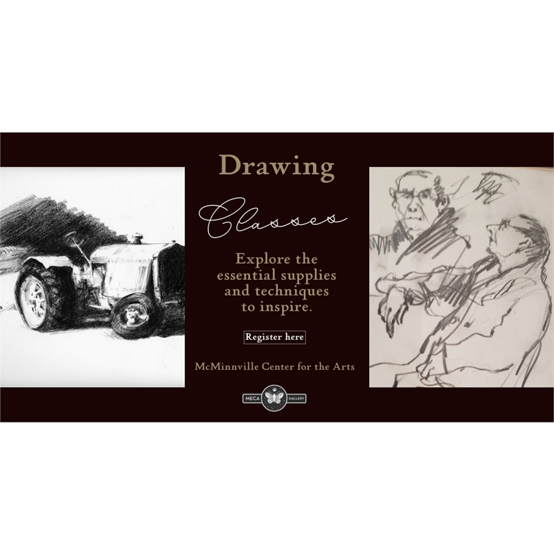 BEGINNING DRAWING, Wednesday, January 15th, 2020 1pm - 3pm