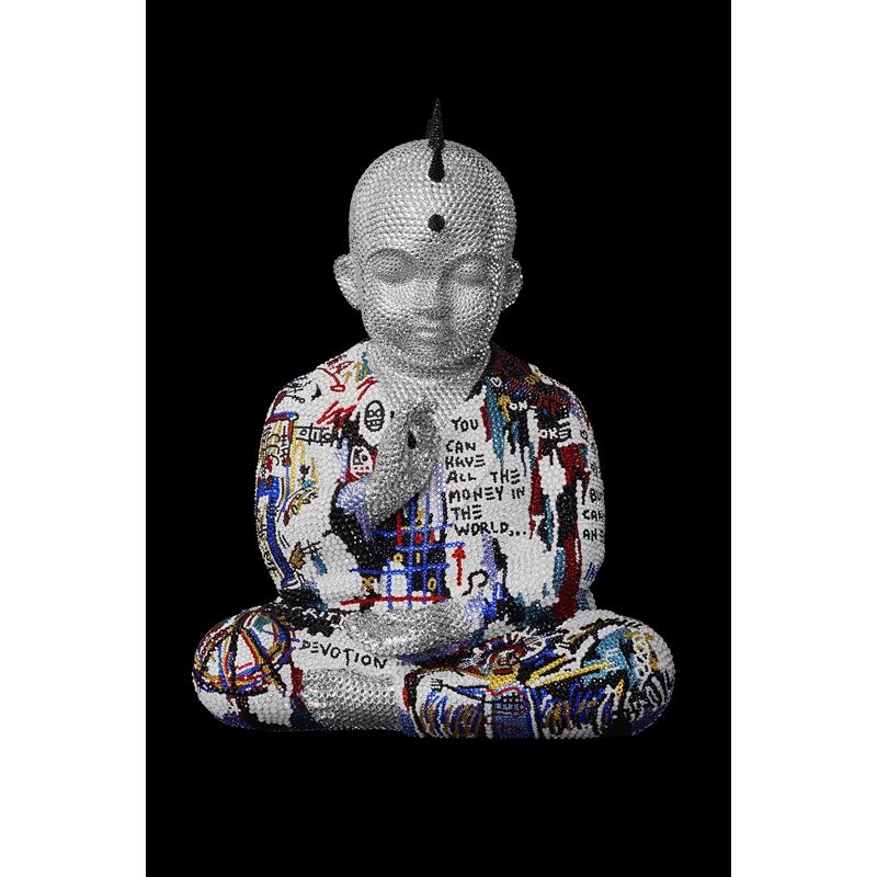 "PUNKBUDDHA Large ""HAVE IT ALL"" feat. Basquiat, 2020"
