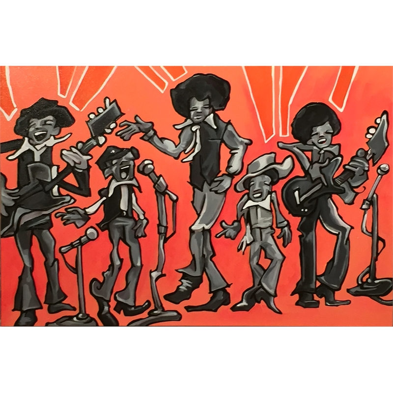 The Jackson Five by Nate Pack