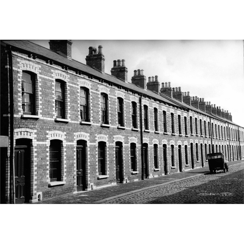 No. 242 Row Houses, Dublin Ireland, 1951