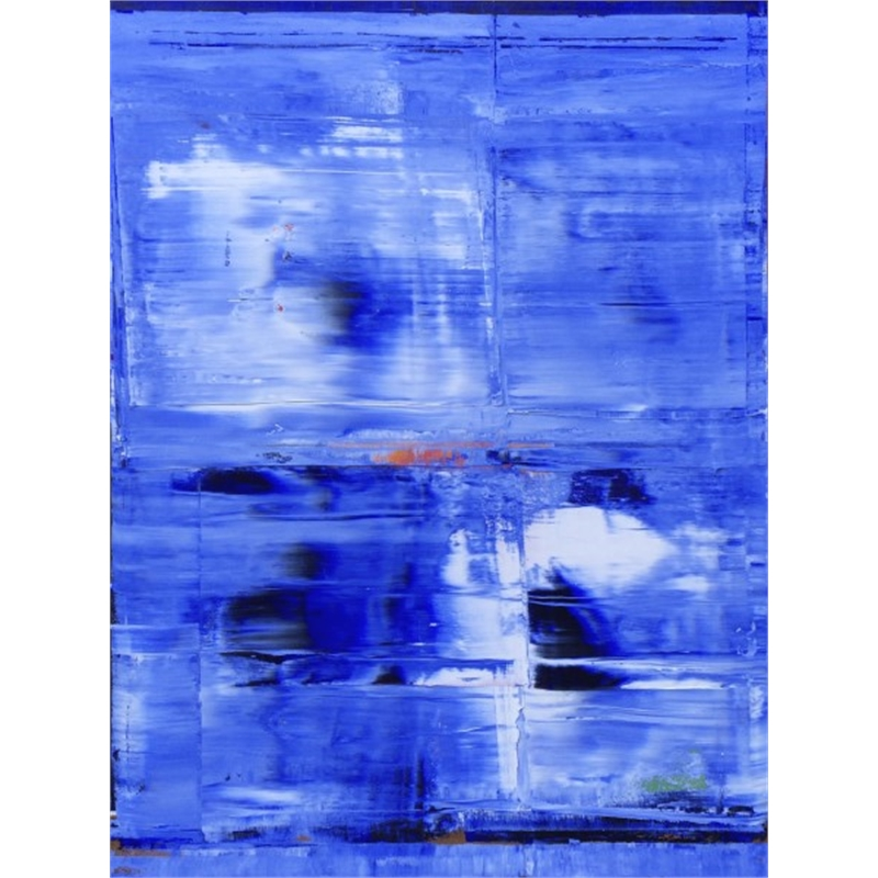 Blue-White No. 10, 2014