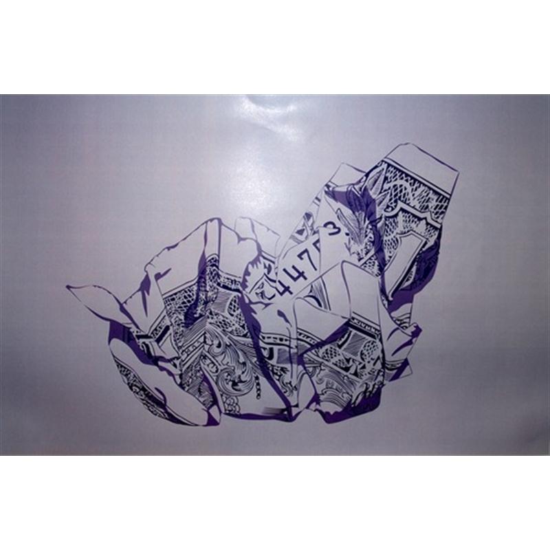 """Purple Bills"" by Gage Hamilton"