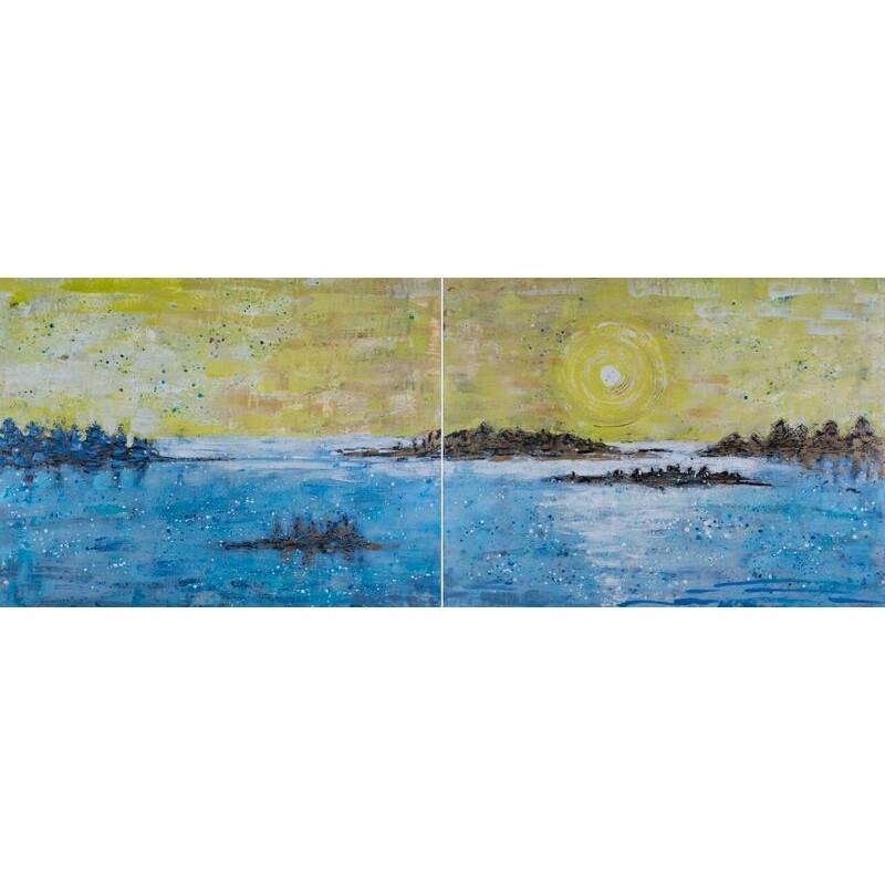 Island and Ocean Series: Golden Light #3
