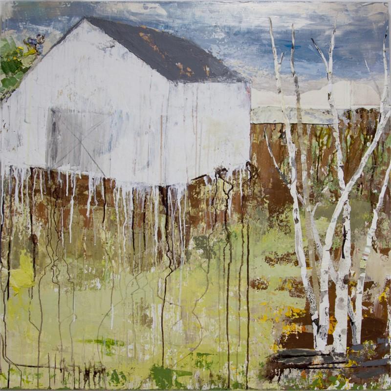 Barn Series : White Hill