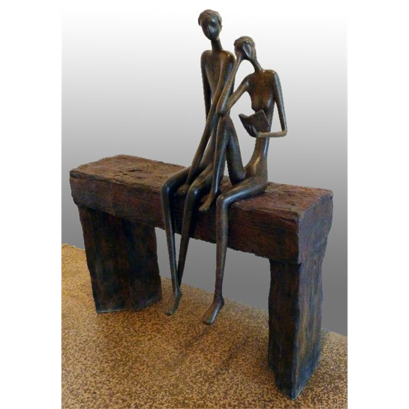 Couple on Bench, 2013