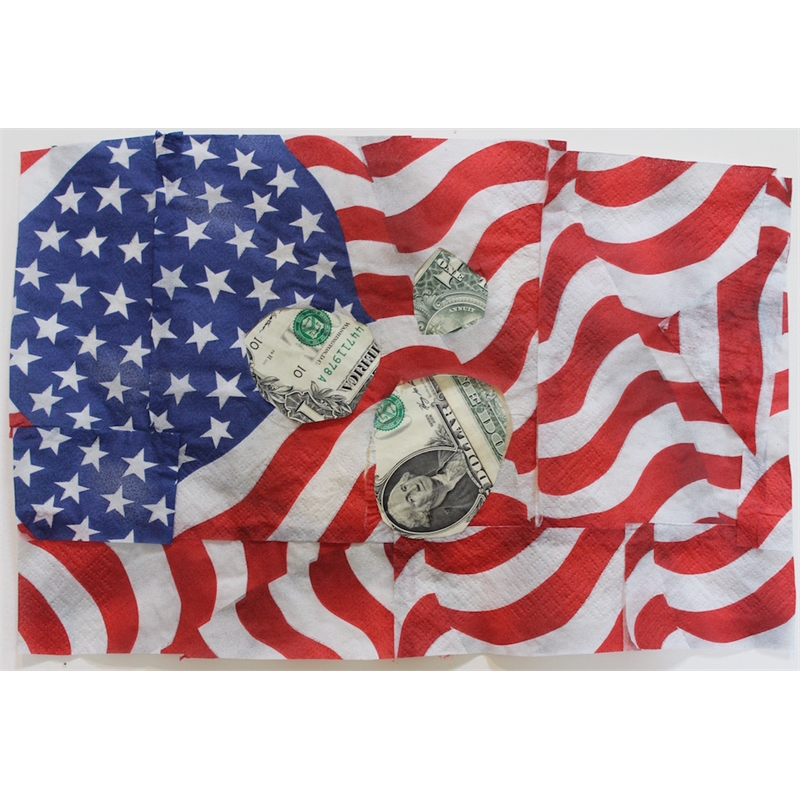 Deborah Mersky, Money Meteor Blast Flag