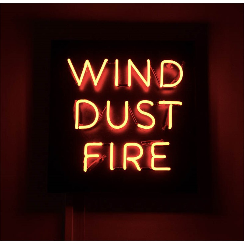 WIND, DUST, FIRE (NEON) ed. of 5 + 2 AP, 2017