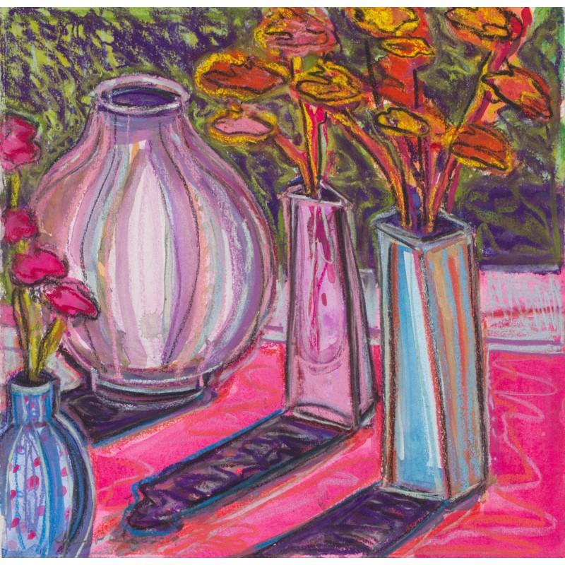 Carnations and Adler Vase II