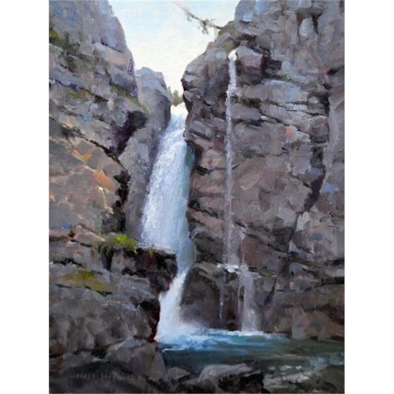 Cutting Deep Canadian Waterfall