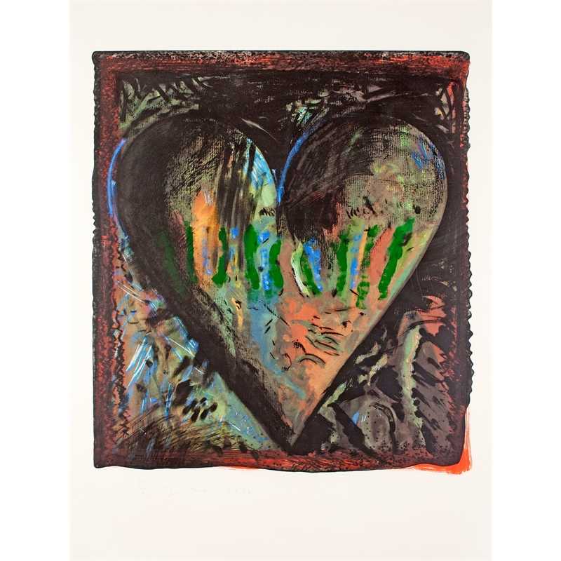 The Hand-Colored Viennese Hearts, II (1/40), 1990