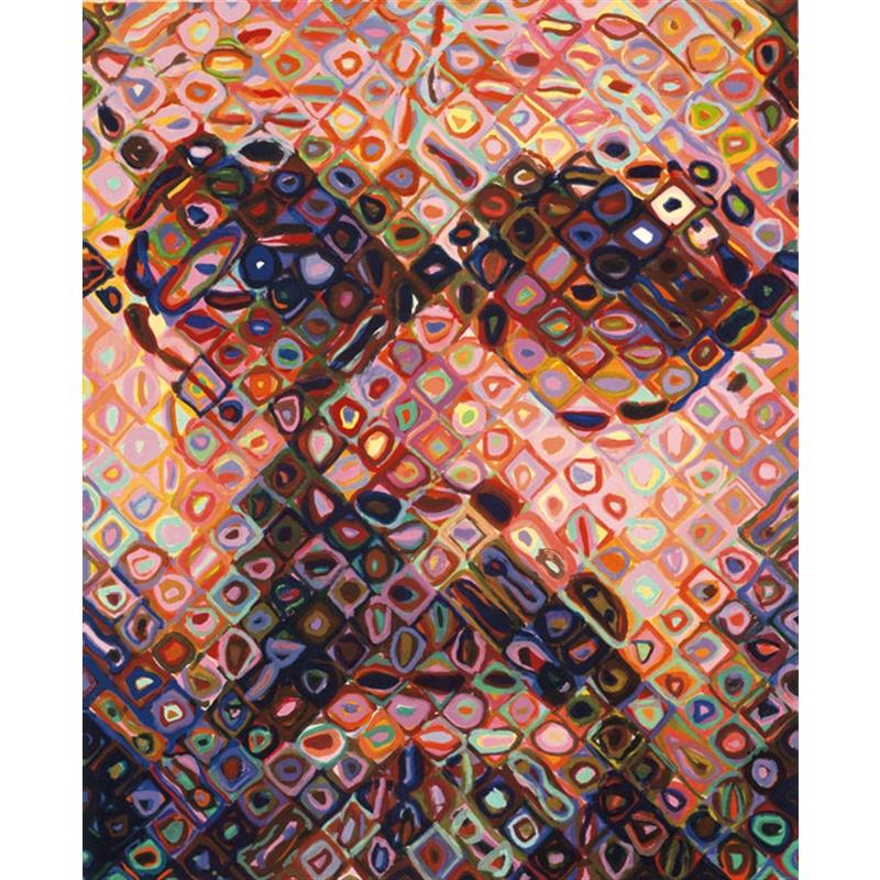 Self-Portrait/Woodcut (/60), 2002