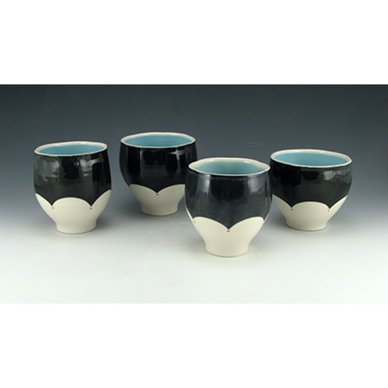 Cup (Blue & Black)