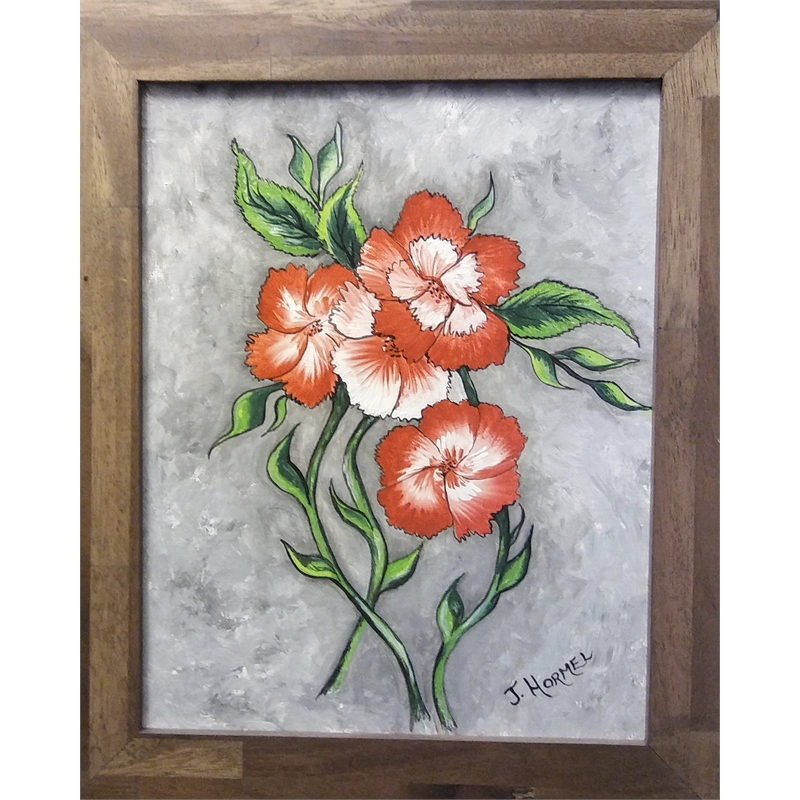 Swirled Flowers