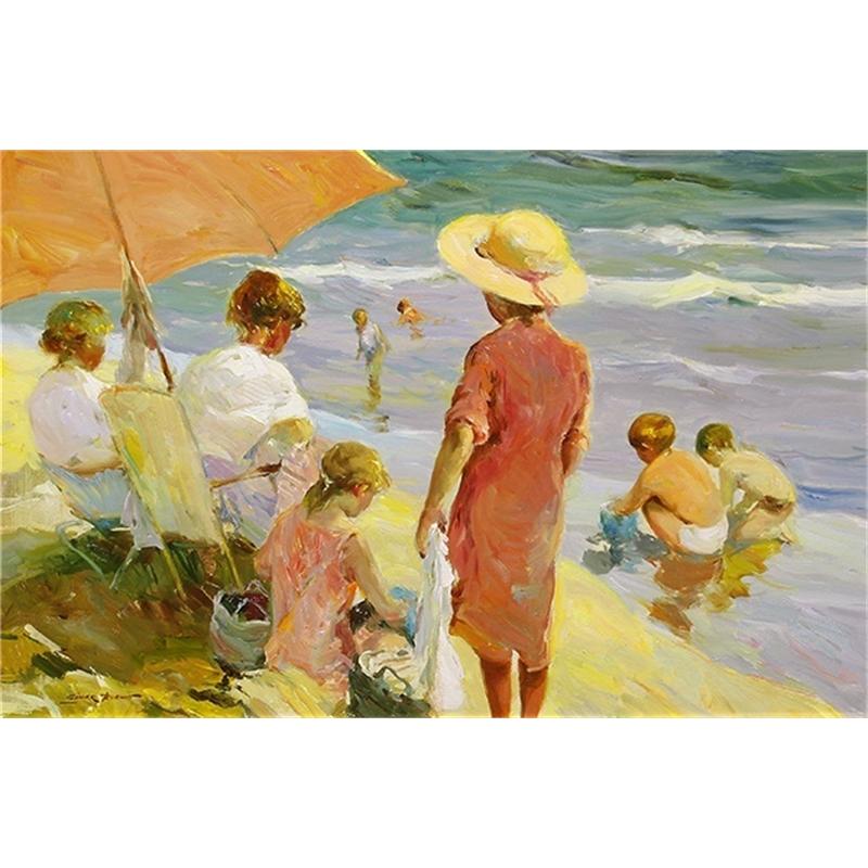 """""""Ninos en la Playa"""""""