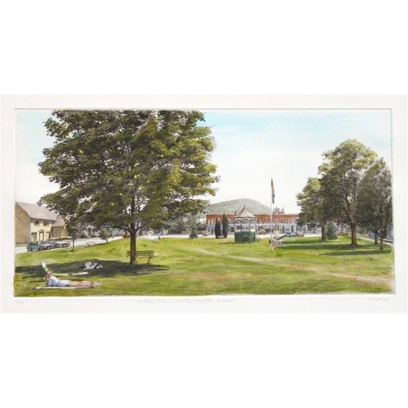 Village Green, South Royalton, Vermont (6/40), 1987