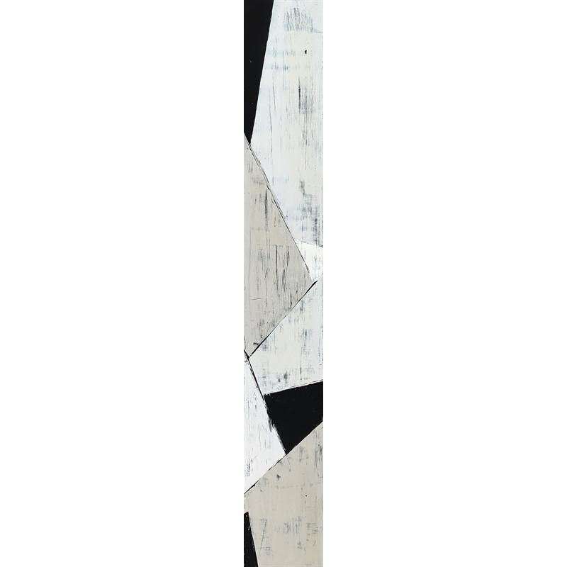 Faccetta: Black & Tan II by Ann Griffith
