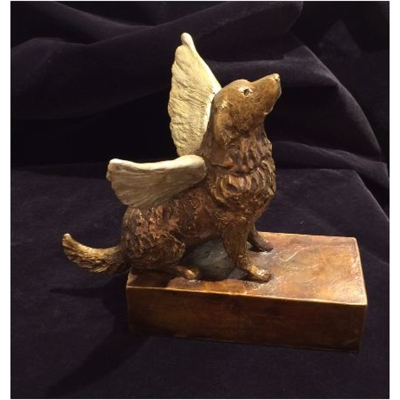 Seated Angel Dog 18/35