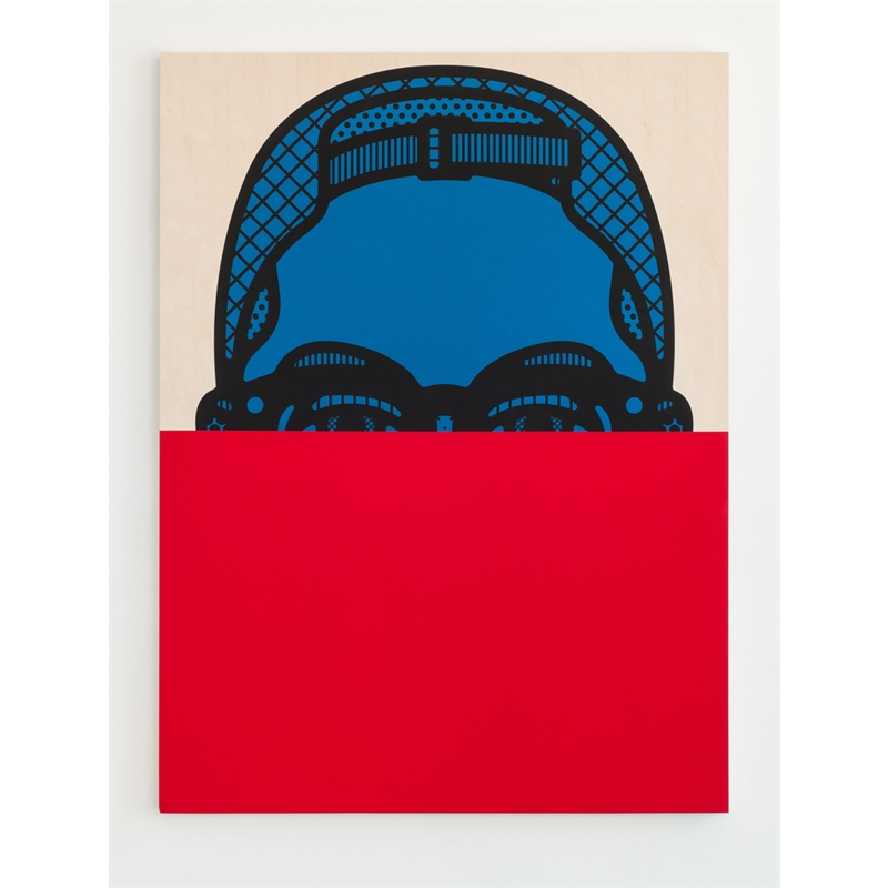 Adam (Red & Blue), 2015