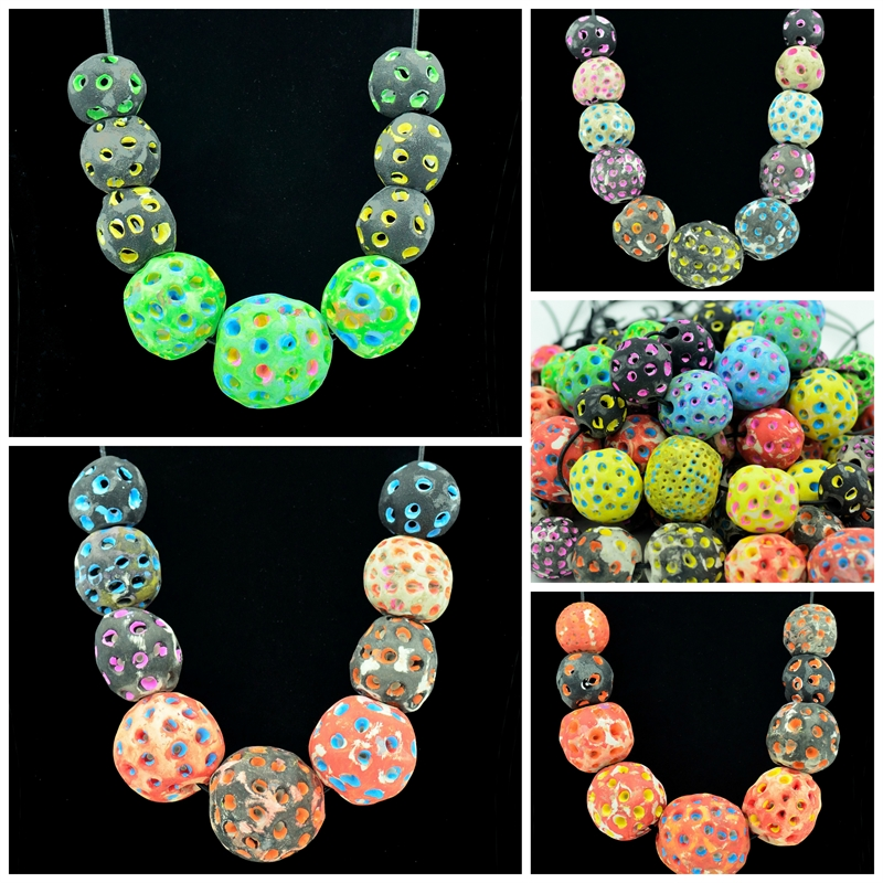 Bruja Balls Necklaces - Series of 11, 2018