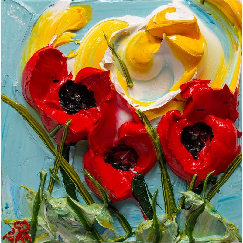 POPPY FLOWERS-PF-12X12-2019-173, 2019