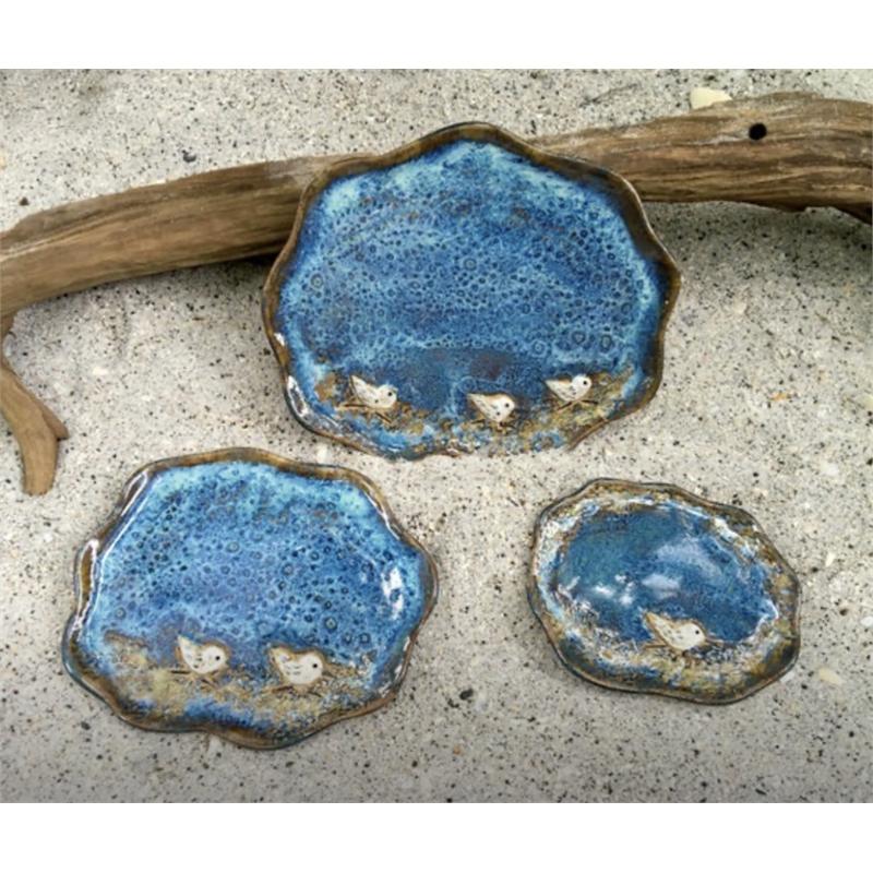 Small Sandpiper Plates, 2019