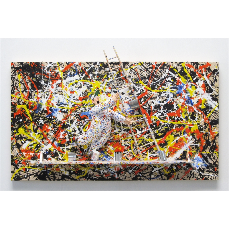 Convergence (Pollock) by Stephen Hansen