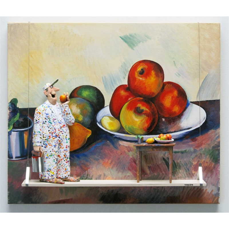 Still Life with Apples (Cezanne), 2019