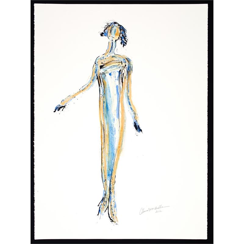 Figure Drawing No. 5, 2018