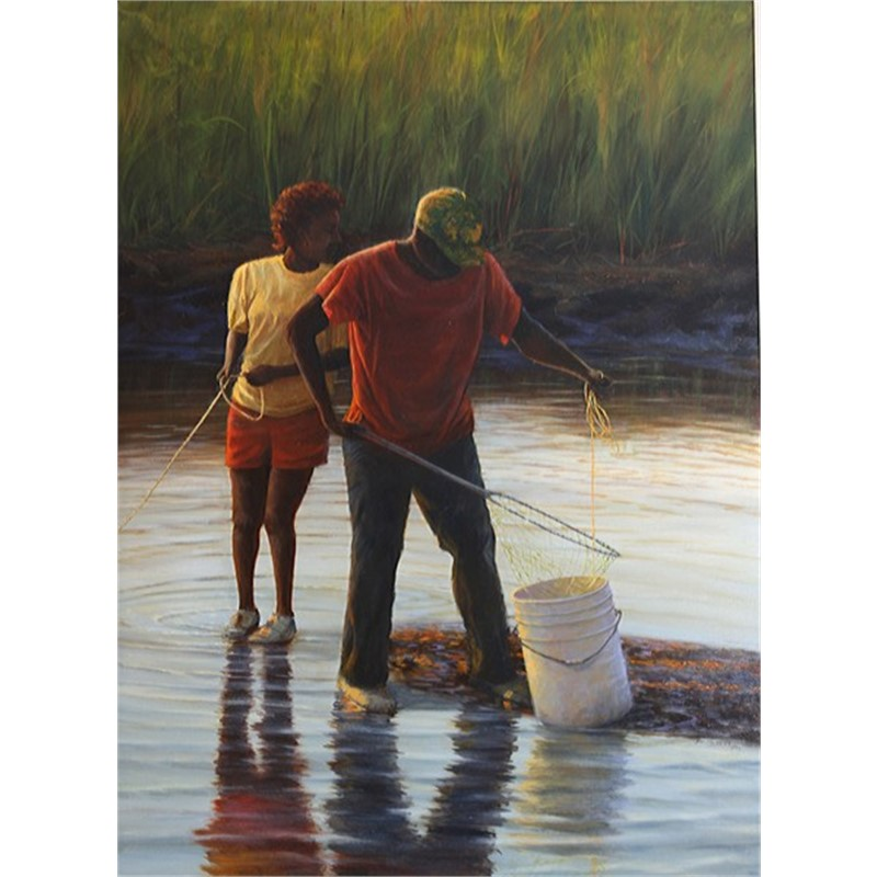 Evening Crabbers by Douglas Grier -- Giclee Prints