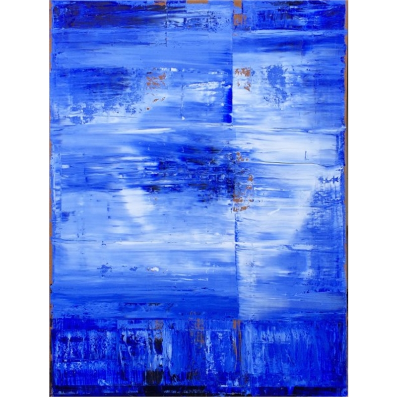 Blue-White No. 9, 2014