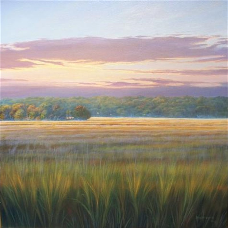 Sunset on the Marsh by Douglas Grier