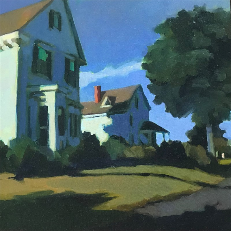 Two on Leo's Lane, Vinalhaven by Connie Hayes