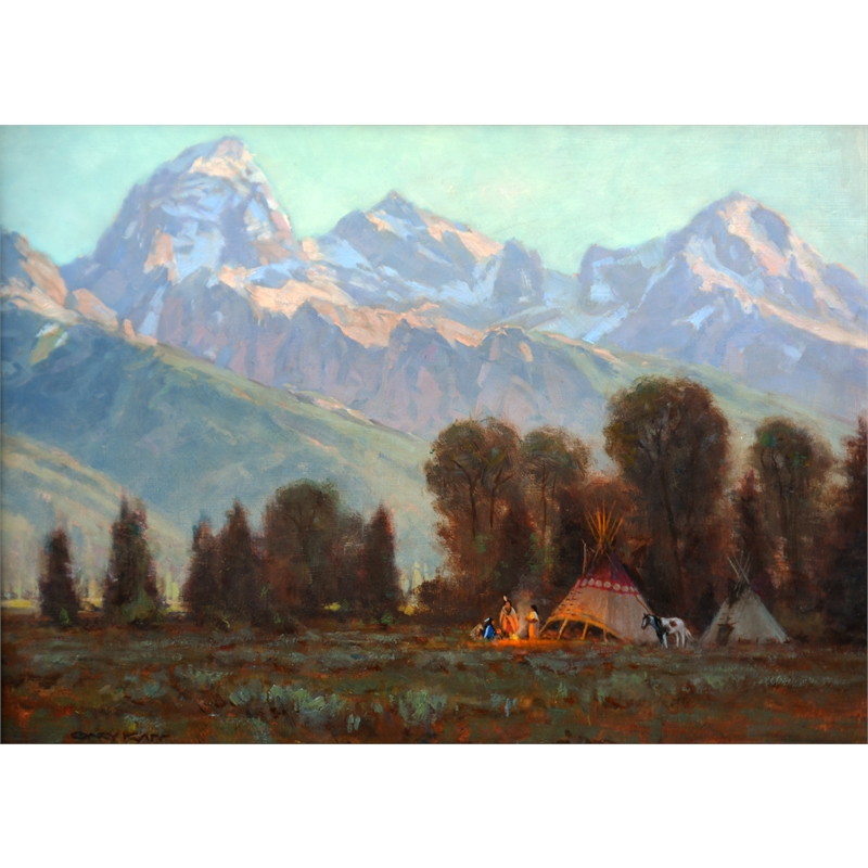 A New Day in the Tetons